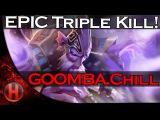 EPIC Triple Kill by GOOMBA.Chill vs. PR Dota 2