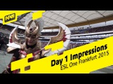 ESL One Frankfurt 2015 - Day 1 Impressions