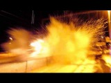MUST SEE! 100+MPH Amtrak Train Hits Snow Bank! (was not expecting this!)