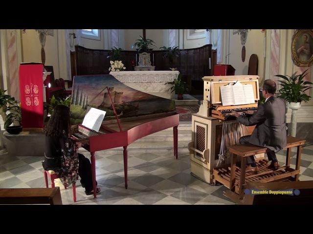 Camille Saint-Saëns, Danse Macabre (excerpt) organ and harpsichord duet transcription