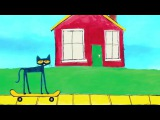 #ReadAlong PETE THE CAT &amp The New Guy Book Trailer &amp Sneak Peek Rock to Your Own Beat!
