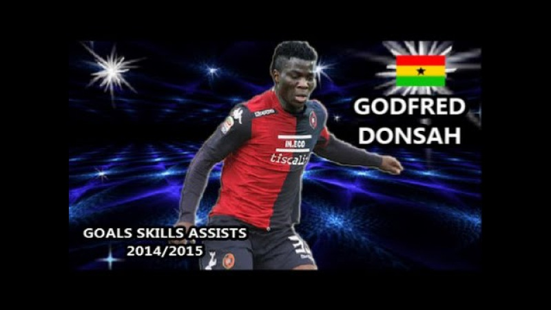 GODFRED DONSAH ● Goals Skills Assists ● Cagliari 2014/2015 |HD|