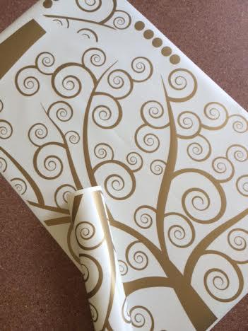фото золотое дерево климта наклейка на стену фото