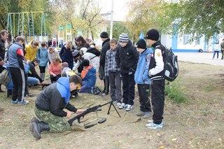 Учебно-полевые сборы в Отрадно...