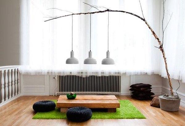 Идеи декора из веток в эко-стиле