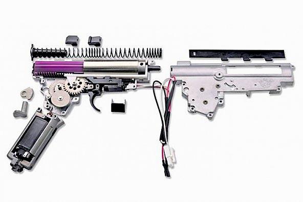 страйкбольное оружие чем стреляет фото