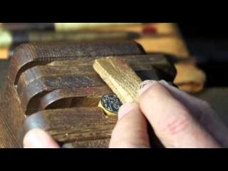 Как сделать печать из дерева своими руками