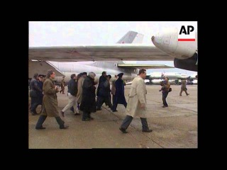 Russia - Perry Views Decommissioned Bombers