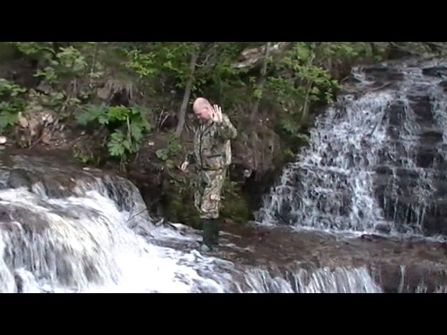 2015 05 15 Водопад на соединении рек Чалпа и Быстрица Новгородской обл