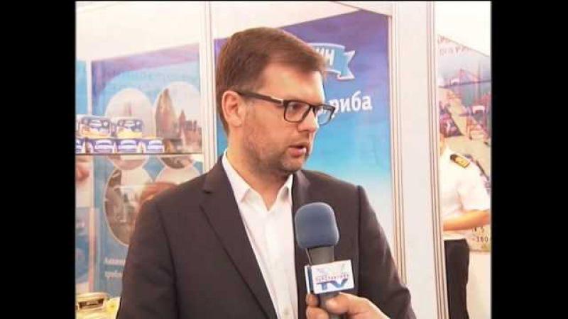 Інтерв'ю голови Держрибагентства Яреми Коваліва на FishExpo 2015