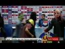 Jugadores del Barcelona disfrazados interrumpen la rueda de prensa del Getafe │ 2015