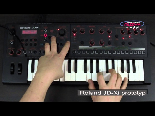 Roland JD Xi demo Strings and Synths Sounds SuperNATURAL analog