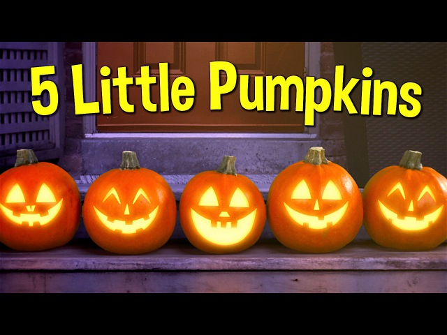 Five Little Pumpkins Pumpkin Song Super Simple Songs