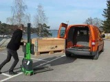 Loading your VW Caddy with 600 kg