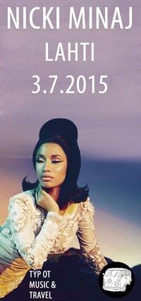 Nicki Minaj - Лахти, Финляндия - 3.7.2015 - M&T