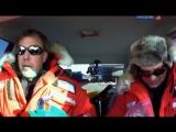 Top Gear - 9 сезон 7 серия [Спецвыпуск]. Top Gear на Северном Полюсе (перевод Россия 2)