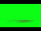 Fondo verde explosion de tierra
