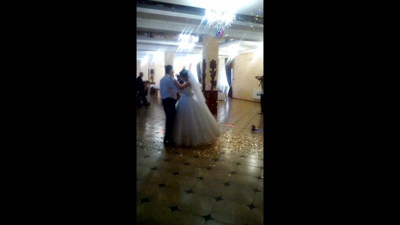перший танець♥щастя вам мої дорогенькі*