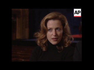 X-Files star Gillian Anderson makes her West End debut