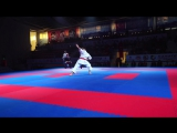 Video Final Kata Team Male Iran vs Egypt - Karate1 Istanbul 2015