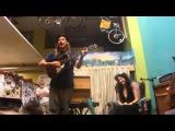 Jason Webley sings a birthday song to Eliza Rickman!