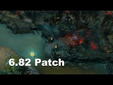 6.82 Patch New Roshan Map changes Dota 2.