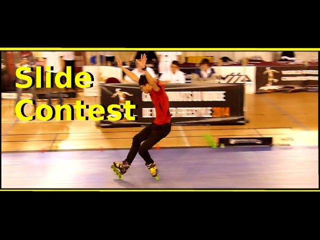 Slide Contest - wfsc 2014 World Championships of Freestyle Roller paris (seba skates) patinaje