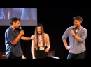 The Harlem Shake during Misha Jensen's panel. (JIB5)