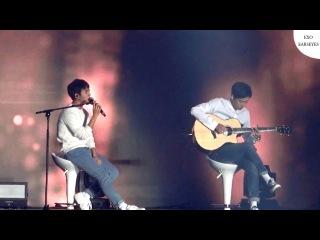 EXO D.O. ft. Chanyeol - Boyfriend (Live) | Justin Bieber [ENG/THAI CC]