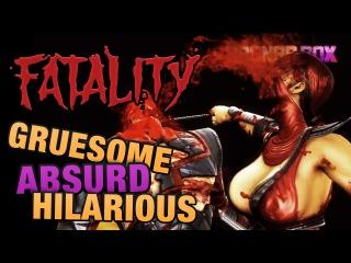Mortal Kombat FATALITIES - Gruesome, Absurd, Hilarious - RagnarRox, ConnerTheWaffle & HappyFunTime