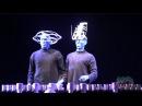 Blue Man Group does Lady Gaga Bad Romance at Universal Orlando