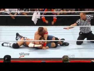 WWE Raw 8/22/11 - John Cena Vs CM Punk - No.1 Condender Qualifying Match