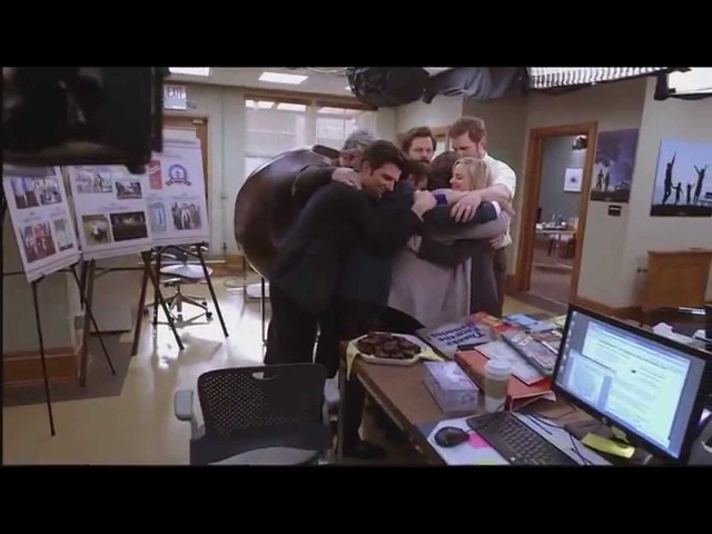 Parks And Recreation Series Finale Ending Credits B-Roll Bloopers Compilation