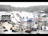 #IBU #Биатлон, 7 Этап Кубка Мира Нове-Место (Чехия) Одиночная Смешанная Эстафета 06.02.2015