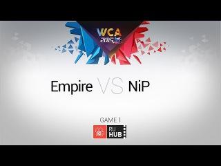 Empire vs NiP, WCA EU Quals, Quarterfinal, Game 1