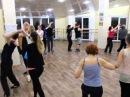 """Сальса руэда в группе """"Продолжающие"""". Студия танца """"ЛатинаDance"""" Симферополь, 2015"""