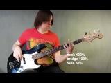 Fender Jazz Bass Standart USA 1998