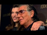Milla Jovovich launches Cavalli Club Credit Card in Milan