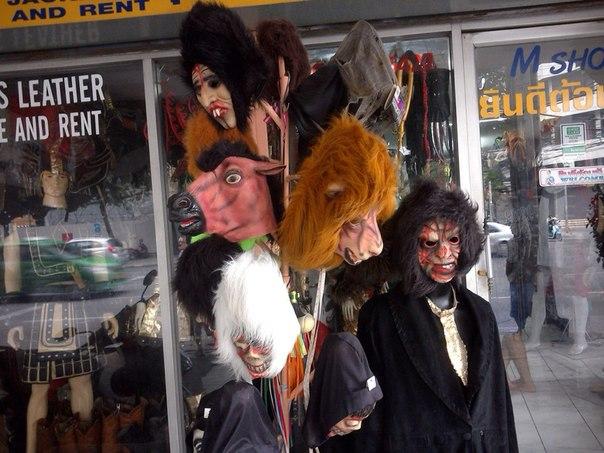 Хэллоуинская торговля в Паттайе
