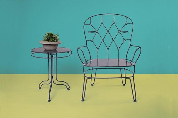 Moderne Sitzbank Poppins Alessandra Baldereschi