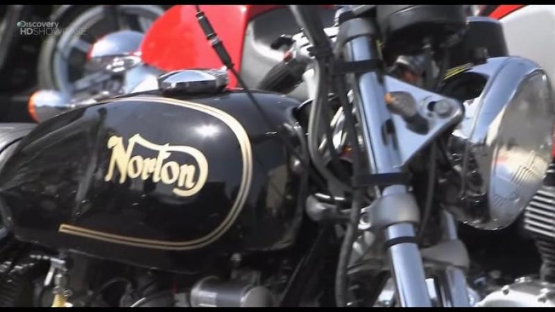 Discovery Гоночный мотоцикл Cafe Racer 1 сезон 2 3 серия