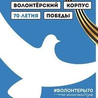 Логотип  Волонтёры70. Владимирская область