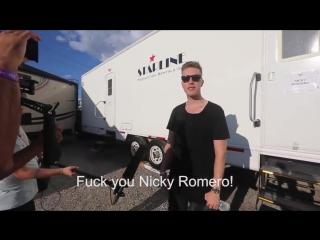 deadmau5: Fuck You Nicky Romero!!!!