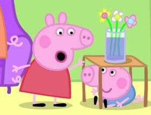 Свинка Пеппа для самых маленьких
