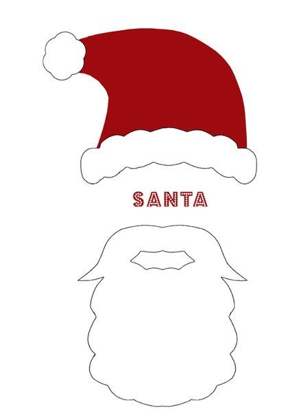 圣诞节不织布手持圣诞老人