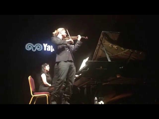 David Garrett - Istanbul/20.05.2015 - Brahms Violin Sonata No.3 in D Minor, Op.108: 1. Allegro
