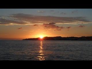 Мое утро, день и вечер (ч.3), закат у моря, Фуэнхирола - Эль Фаро, Испания, 30 октября 2015 г