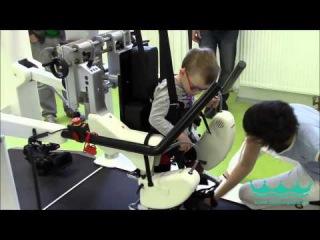 Локомат. Лечение ДЦП в Чехии - Lokomat. Treatment of cerebral palsy in the Czech Republic