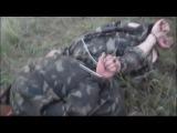 Доберман,боец батальона Донбасс,поставил раком русню