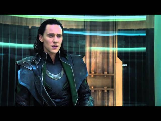 Мстители (2012) - Локи и Черная Вдова